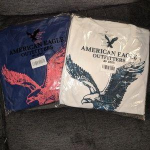 5 American Eagle t-shirts XLT